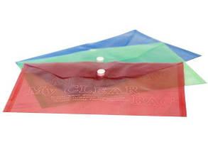 Папка на кнопці А5 MY CLEAR BAG A5-14c пластик