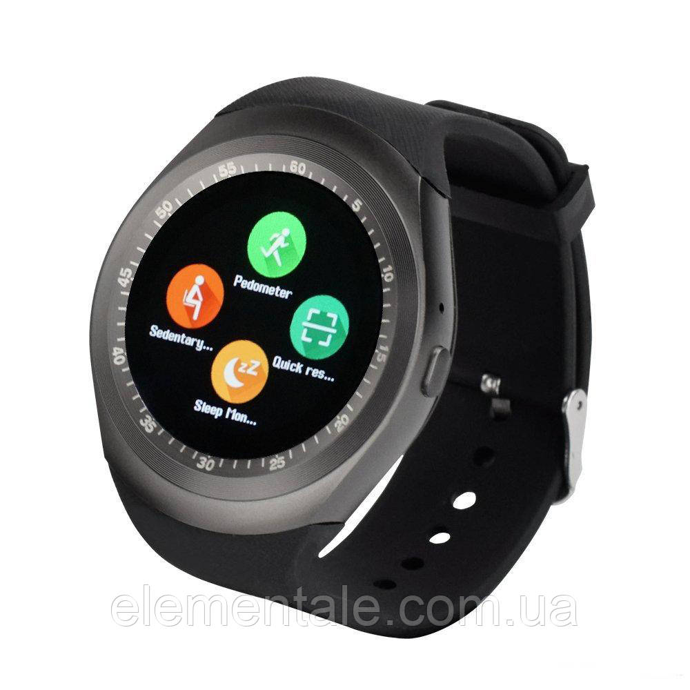 Умные часы Smart Watch UWatch Y1 Black
