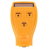 Толщиномер тестер краски цифровой Benetech GM200, фото 7