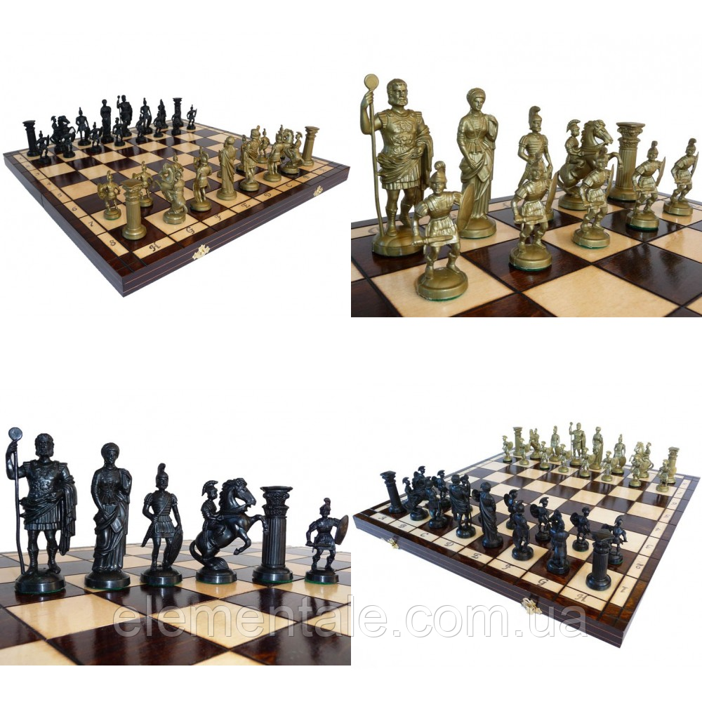 Шахматы Madon Спартанские 49.5х49.5 см