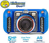 VTech KidiZoom Детский цифровой фотоаппарат 80-520000 Duo DX Digital Selfie Camera with MP3 Player Blue, фото 2