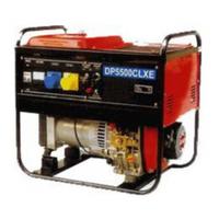 Однофазный дизельный генератор GLENDALE DP2500-CLXE (2,5 кВт)