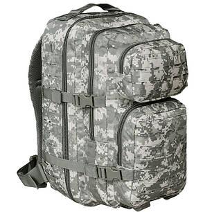 Штурмовой рюкзак 36л система Molle MilTec Assault LazerCut камуфляж At-digital 14002770, фото 2
