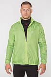 Мужская ветровка-дождевик с капюшоном Radical Flurry L Зеленый, фото 2
