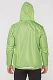 Мужская ветровка-дождевик с капюшоном Radical Flurry L Зеленый, фото 3