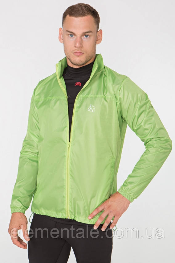Мужская ветровка-дождевик с капюшоном Radical Flurry XXL Зеленый