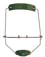 Лицевая маска универсальная реверсивная зелёная Leone (Леоне) М0775-00V