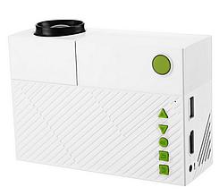 Мультимедийный портативный проектор UKC YG310 White (hub_np2_1137)