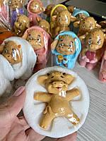 Мыло ручной работы Яшка в снегу Год Быка Новогодний сувенир