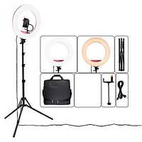 Кольцевая лампа для блогера, визажиста, фотографа