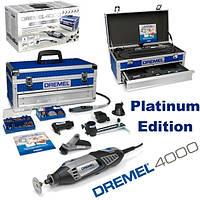 Гравировальная машина Dremel 4000-6/128 ( Платиновое издание 6+128 насадок )
