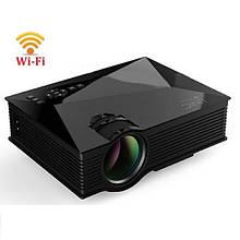 Мультимедійний проектор UC68 BK домашній кінотеатр портативний проектро (MLOL-310)