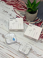 Наушники Apple EarPods Lightning вакуумные с вкладышами