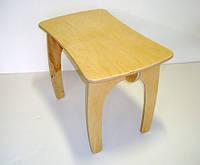 Детский столик деревянный ручной работы