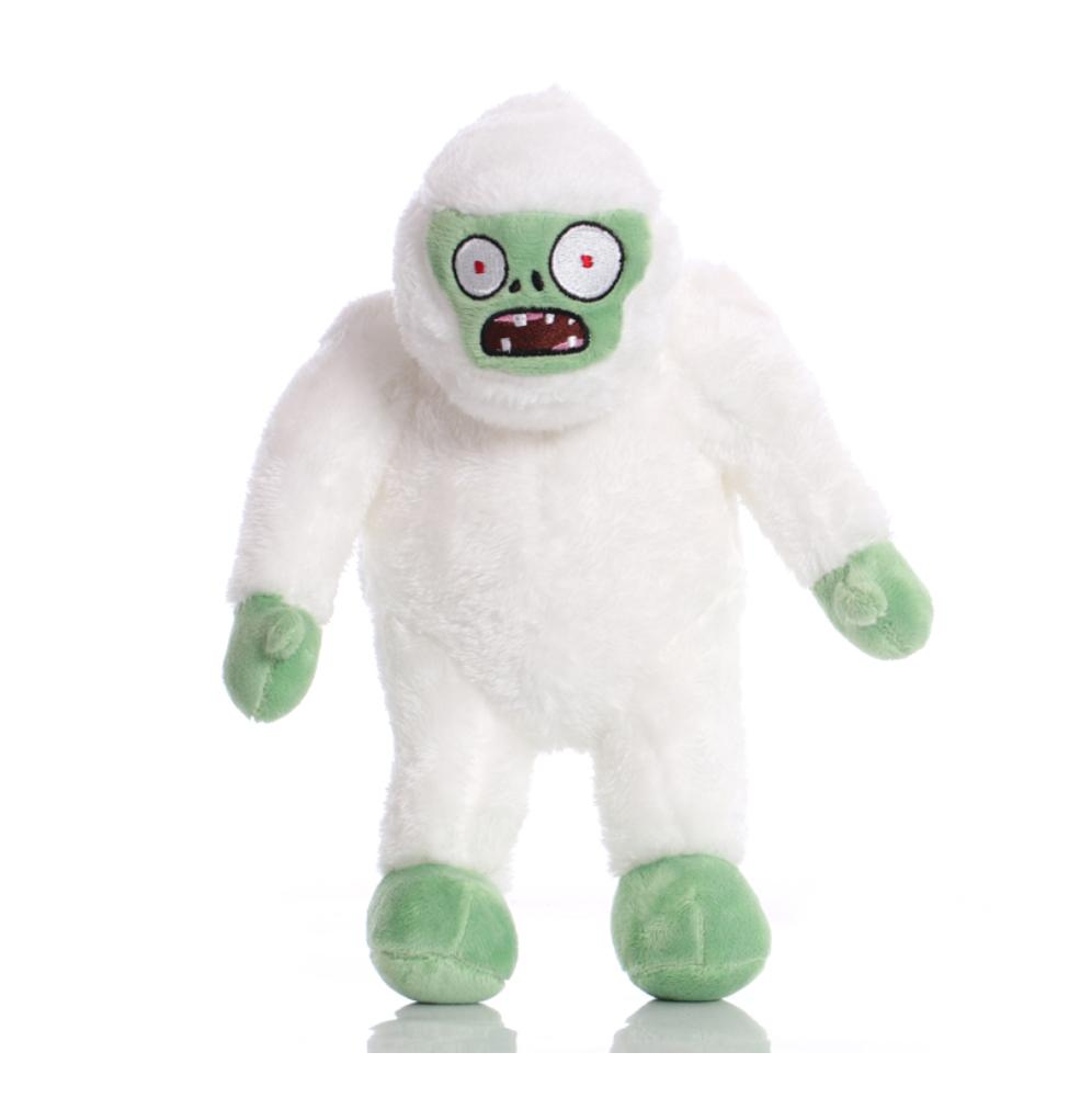 Зомби Йети Мягкая плюшевая игрушка Растения против зомби из игры Plants vs Zombies