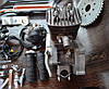 Двигатель веломотор 80 см3 полный комплект. - Фото