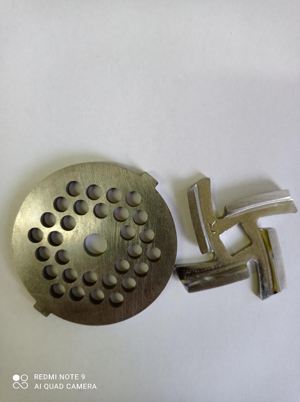 Нож и решетка  для мясорубки VINIS VMG-1504A
