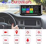 Панель с видеорегистратором DVR 004 T7 Android (JUNSUN E26) 4G WiFi GPS, две камеры, парковка, навигация, фото 2