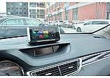 Панель с видеорегистратором DVR 004 T7 Android (JUNSUN E26) 4G WiFi GPS, две камеры, парковка, навигация, фото 3