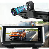 Панель с видеорегистратором DVR 004 T7 Android (JUNSUN E26) 4G WiFi GPS, две камеры, парковка, навигация, фото 10