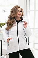 Женская деми Куртка батал стильная р.50,52, фото 1