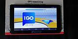 Автомобильный GPS навигатор Pioneer X7 Android Экран 7 дюймов 2.5D Igo Primo ЕВРОПА (TIR), фото 2