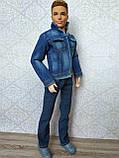 (Не для перепродажи!) Одежда для Кена - джинсовая куртка, фото 4