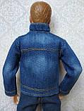 (Не для перепродажи!) Одежда для Кена - джинсовая куртка, фото 5