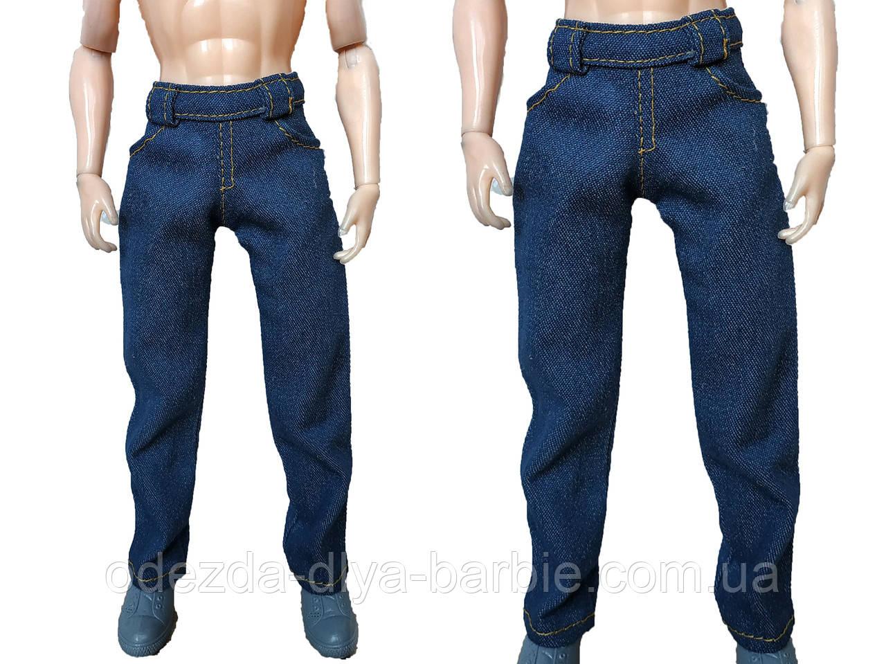 (Не для перепродажи!) Одежда для Кена - джинсовые брюки