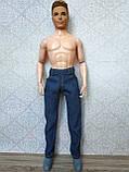 (Не для перепродажи!) Одежда для Кена - джинсовые брюки, фото 5