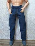 (Не для перепродажи!) Одежда для Кена - джинсовые брюки, фото 4