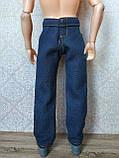 (Не для перепродажи!) Одежда для Кена - джинсовые брюки, фото 7