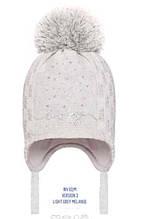 Детская шапка для девочки BARBARAS Польша WV62 / ME Белый