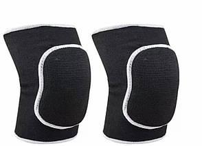 Наколінники чорні захист від травм при падінні дорослі підліткові, фото 2