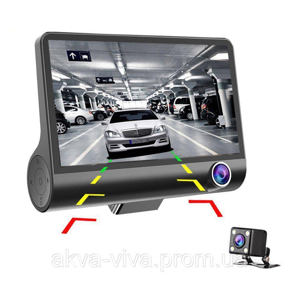 Відеореєстратор на 3 камери + Відео парковка (Р-503)