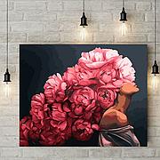 Картины Девушка с цветами на голове с сюжетами Эми Джадд — новинки Mariposa и Babylon