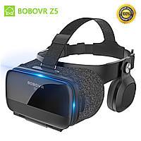 Очки виртуальной реальности для телефона Bobovr Z5 3D с Наушниками С ПУЛЬТОМ ДУ Bluetooth 120° ORIGINAL