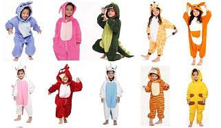 Пижамы и кигуруми детские