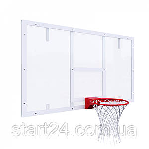 Щит баскетбольний ігровий 1800х1050 (8, 10, 12 мм) біла розмітка