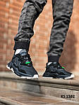 Мужские кроссовки Adidas Ozweego TR (черно/белые) KS 1592, фото 4