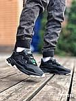 Мужские кроссовки Adidas Ozweego TR (черно/белые) KS 1592, фото 5