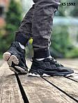 Мужские кроссовки Adidas Ozweego TR (черно/белые) KS 1592, фото 8