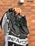 Мужские кроссовки Adidas Ozweego TR (черно/белые) KS 1592, фото 9