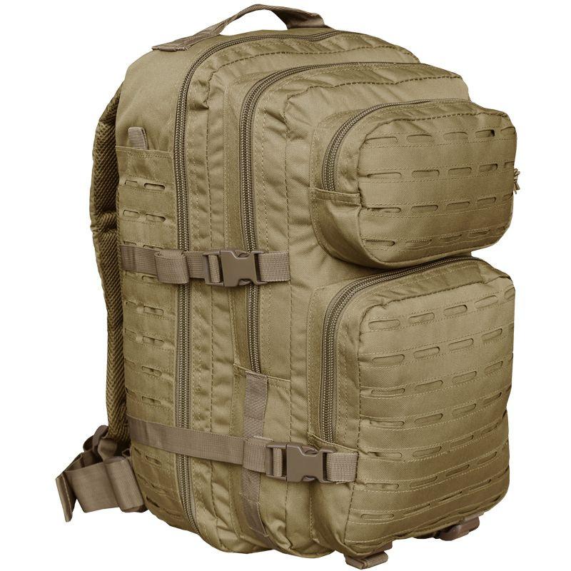 Штурмовой рюкзак 36л система Molle MilTec Assault LazerCut койот 14002705