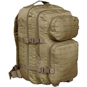 Штурмовой рюкзак 36л система Molle MilTec Assault LazerCut койот 14002705, фото 2