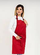 Фартук Latte Короткий Червоний, фото 5