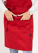 Фартук Latte Короткий Червоний, фото 4