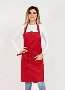 Фартук Latte Короткий Червоний, фото 2