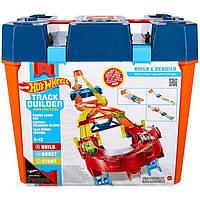 Трек Hot Wheels Электронный Игровой Бокс Hot Wheels Track Builder Unlimited Power Boost Box GNJ01