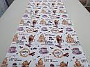Ткань вафельная ширина 50 см Кофемания, фото 2